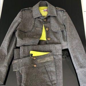 bebe Tweed Suit Set
